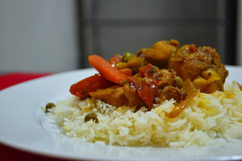Nepalese chicken curry